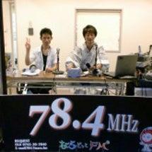 ラジオ番組、初めての…