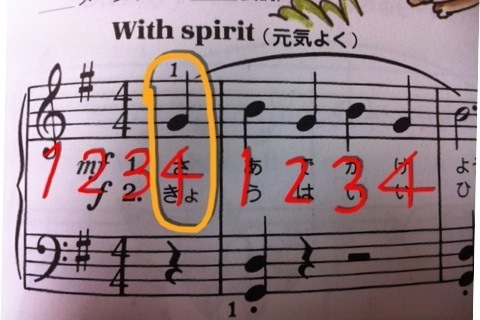 No.4 アウフタクト   ピアノを教...