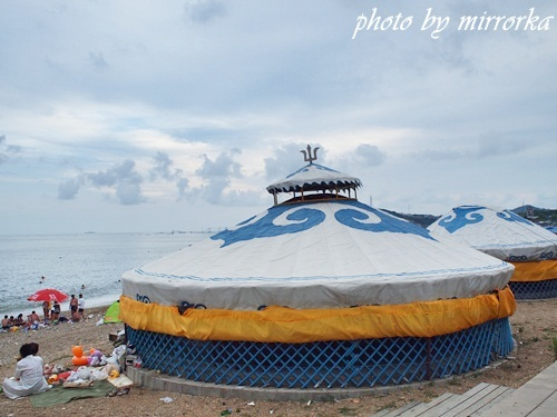 中国大連生活・観光旅行ニュース**-旅順 藍湾海浜浴場