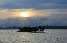 まめなか日記-宍道湖の夕日