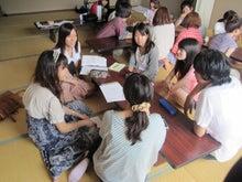 アイセック名古屋市立大学委員会のブログ-話をしている様子