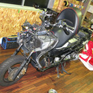 HOT WIREDのデモバイク,HONDA FORZA250 (MF-08) オーディオカスタムの記事より