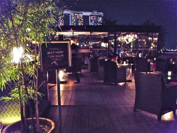 おすすめ!夜景がゴージャスな屋上のバー&レストラン Orgo|シンガポール在住ジュリアのブログ