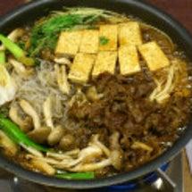 今日の夕飯 <すき焼…