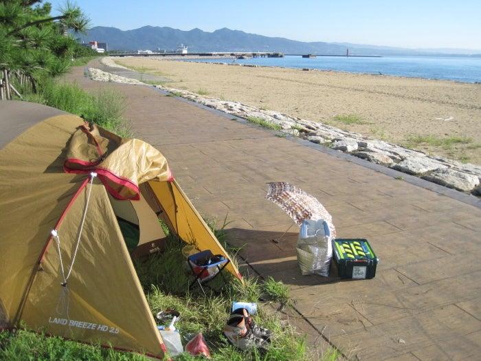 $歩き人ふみの徒歩世界旅行 日本・台湾編-別府の海岸