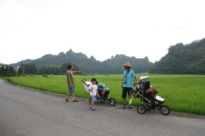 歩き人ふみの徒歩世界旅行 日本・台湾編-田染の荘