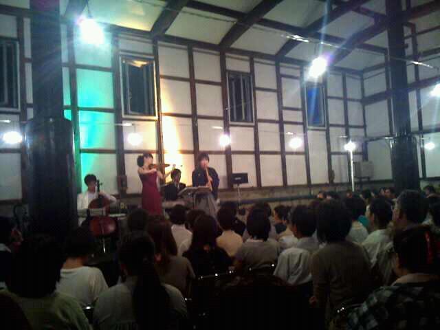 酒蔵音楽会が開催されました。の記事より