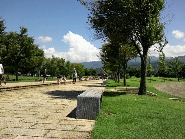 芳川公園で水遊び。 | ママ鉄初...