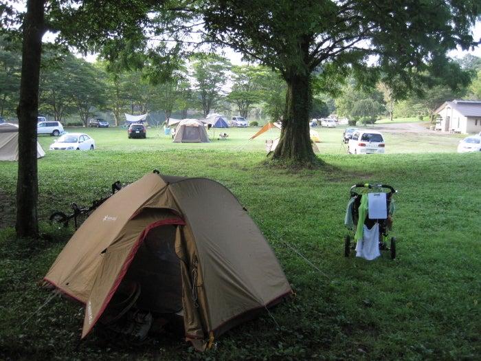 歩き人ふみの徒歩世界旅行 日本・台湾編-キャンプ場