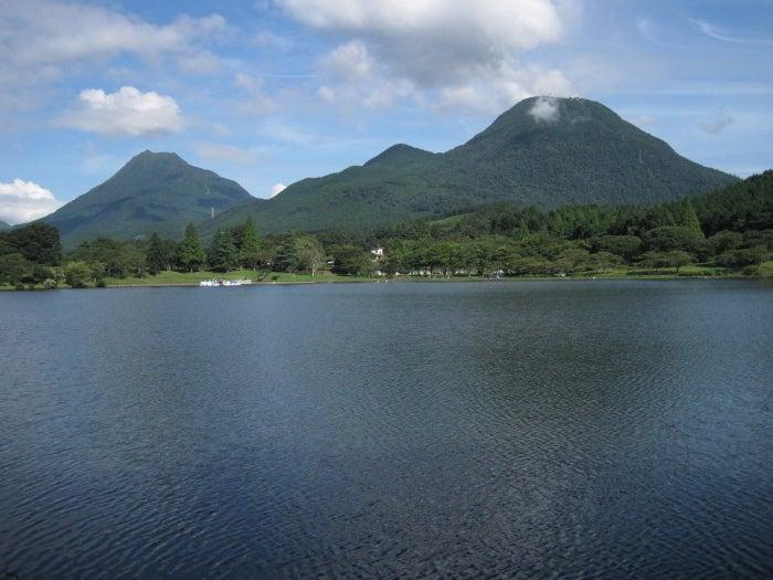 歩き人ふみの徒歩世界旅行 日本・台湾編-志高湖と由布岳