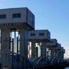 児島湾締切堤防の画像