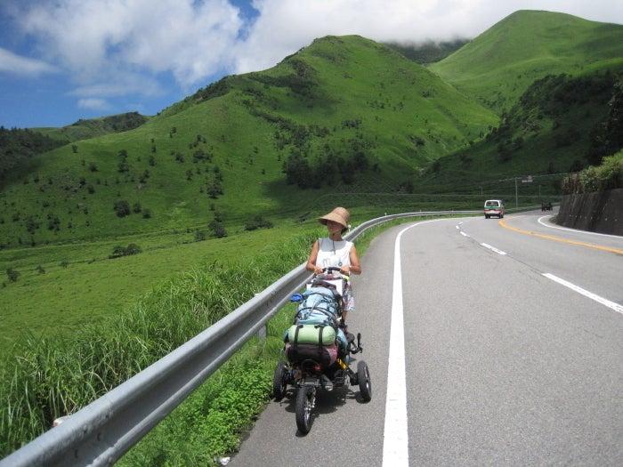 歩き人ふみの徒歩世界旅行 日本・台湾編-湯布院へ