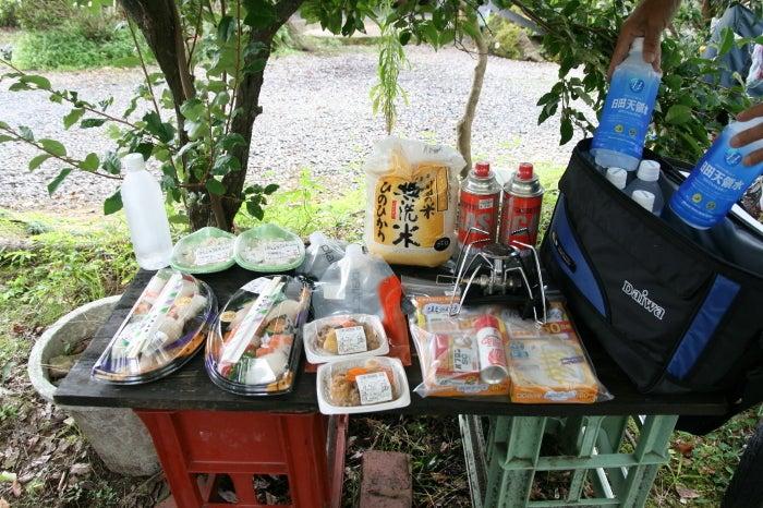 $歩き人ふみの徒歩世界旅行 日本・台湾編-おっさんバイカーさん差し入れ
