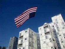 遥香の近況日記-アメリカ国旗