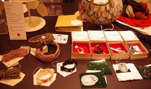 *カンボジアの綿クロマーと赤ちゃん帽子のお店*-高島屋 村上千歳さん