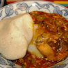 ガーナ料理 トマトシチューの作り方の画像