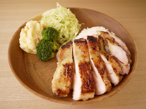 ひよこ食堂-アジアン風チキンプレート02