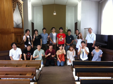 日本キリスト改革派中部中会学生会blog