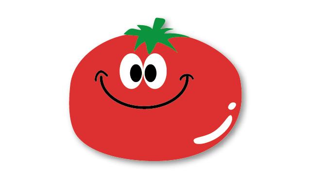 超簡単トマトを作ろうイラスト素材の作り方 卒園アルバムの手作り