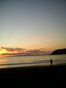 kokoroのブログ-夕陽