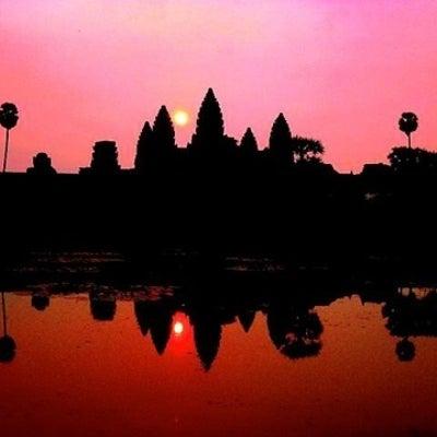 カンボジア女一人旅とアンコールワットとベンメリア日帰りツアーの記事に添付されている画像