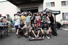 $DROP skateboard event for Snowboarders