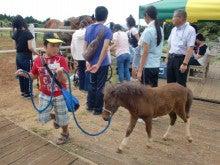馬を愛する男のブログ Ebosikogen Horse Park-ほたると戯れ