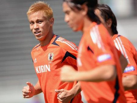 サッカー日本代表 ワールドカップ最終予選 イラク戦 本田圭佑