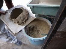 京町家を買って改修する男のblog-土壁中塗仕上1