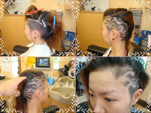 barber shintoko hair design  ヘアカタログblog-刈り上げ女性ライン
