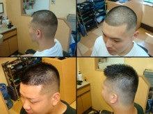 barber shintoko hair design  ヘアカタログblog-おしゃれ坊主ライン