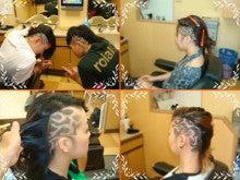 barber shintoko hair design  ヘアカタログblog-刈り上げ女子高生ライン