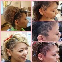 barber shintoko hair design  ヘアカタログblog-女性刈り上げラインアート