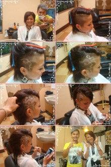 barber shintoko hair design  ヘアカタログblog-女子高生刈り上げレザーアート
