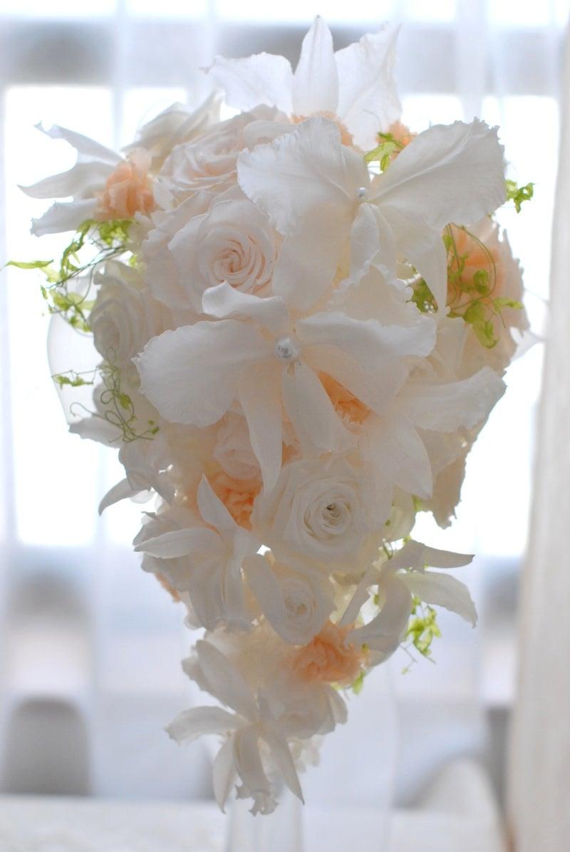 Cinq flora サンクフローラのブログ☆花と暮らす悦びをあなたにも-カトレアブーケ2