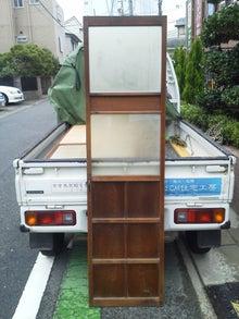今日の(有)OSCM住宅工房の動き-2012 9 11松城町古建具4