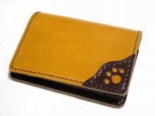 OXIO-CRAFT(オキクラ)の「革雑貨」制作日記-名刺ケース