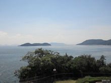 Suica割-2012無謀旅\与島から瀬戸内海.JPG