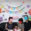 祝❤1歳のお誕生日会…