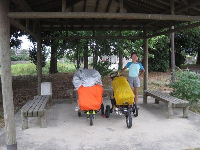 歩き人ふみの徒歩世界旅行 日本・台湾編-避難準備