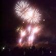 札幌ドームで花火♪