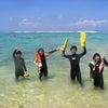 今日からパラセーリングは通常開催!青の洞窟は明日から再開です♪サンゴビーチで体験ダイビング!!の画像
