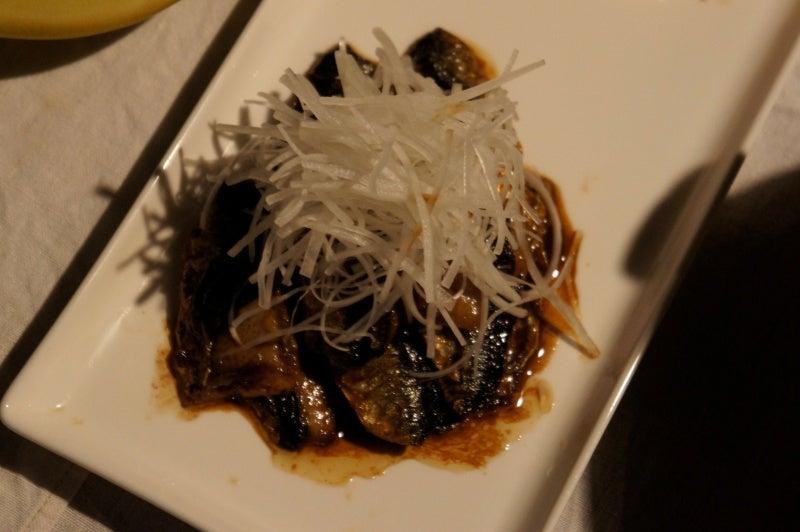 玄米花子のお料理レシピ-秋刀魚の焼き物 肝ソース
