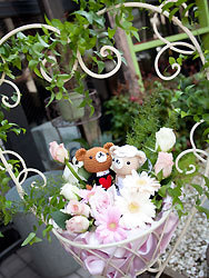 Trattoria & Flower Angelica お知らせ-ウェルカム・フラワー