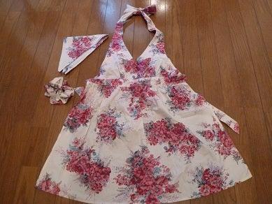 ☆Naomiの英語&日本語バイリンガルダイアリー☆-handmade apron