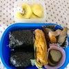 幼稚園年長男児のお弁当☆チキチキボーン弁当(9/18分)の画像
