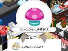 キャラクターデザインとFAV☆Chocobanditz blog-メルヘンキノコありがと!!