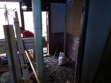 京町家を買って改修する男のblog-17コンクリート土間