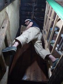 京町家を買って改修する男のblog-10空中土壁