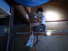 京町家を買って改修する男のblog-7火袋土壁